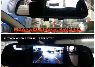 Auto Fitment Specialists Universal Reverse Camera